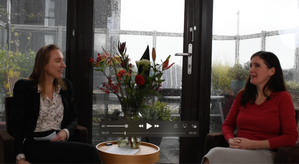Silvie en Imke Interview